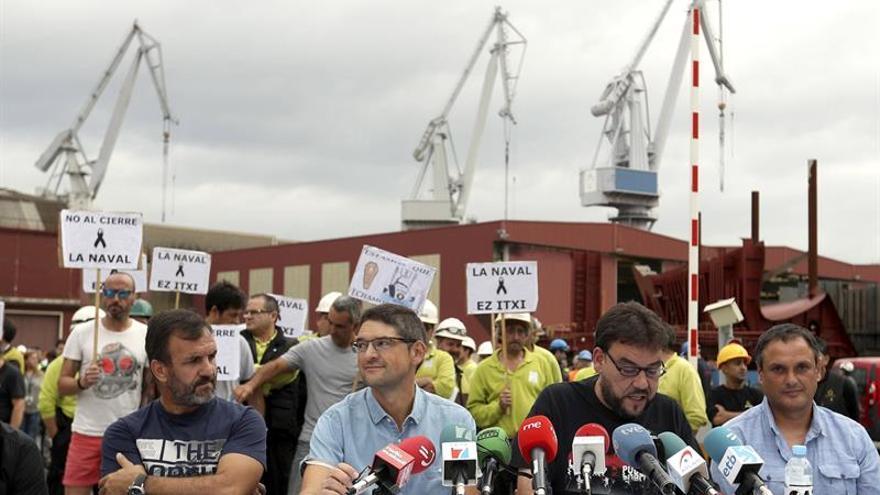 El Comité de La Naval pide a Gobiernos español y vasco una mesa de negociación