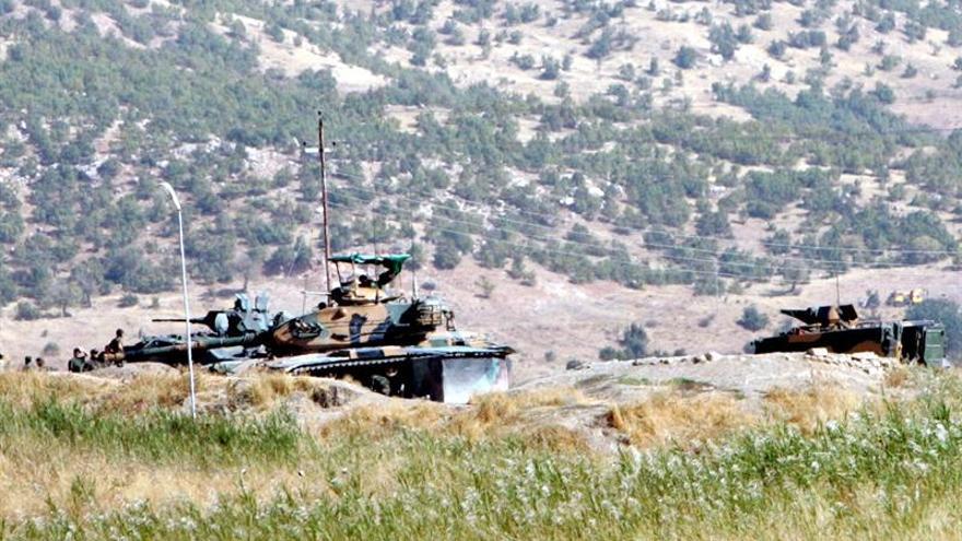 Turquía bombardea de nuevo refugios de la guerrilla kurda en el norte de Irak