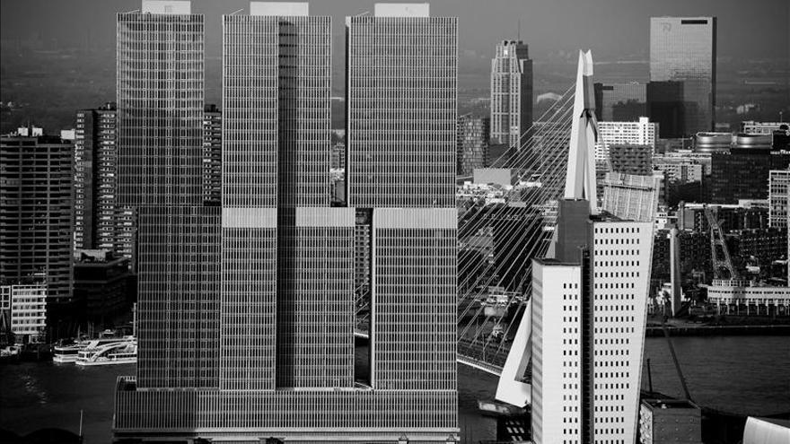 """Grandilocuencia urbanística en la """"ciudad vertical"""" de Rotterdam"""