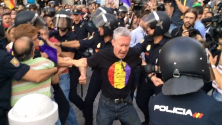 Jorge Verstrynge detenido / Stéphane M. Grueso