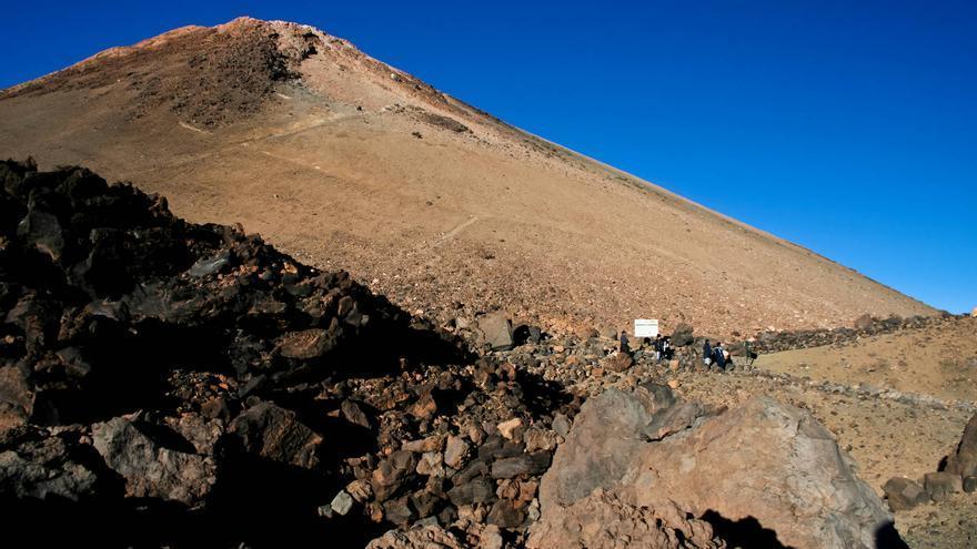 El 'Pan de Azúcar', como se conoce popularmente al cono superior de El Teide. VIAJAR AHORA