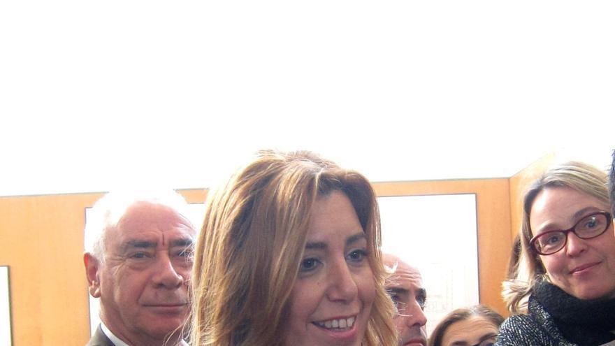 """Susana Díaz, """"respetuosa"""" con la autonomía de la UMA ante asunto Errejón, pide ejemplaridad en uso de recursos públicos"""