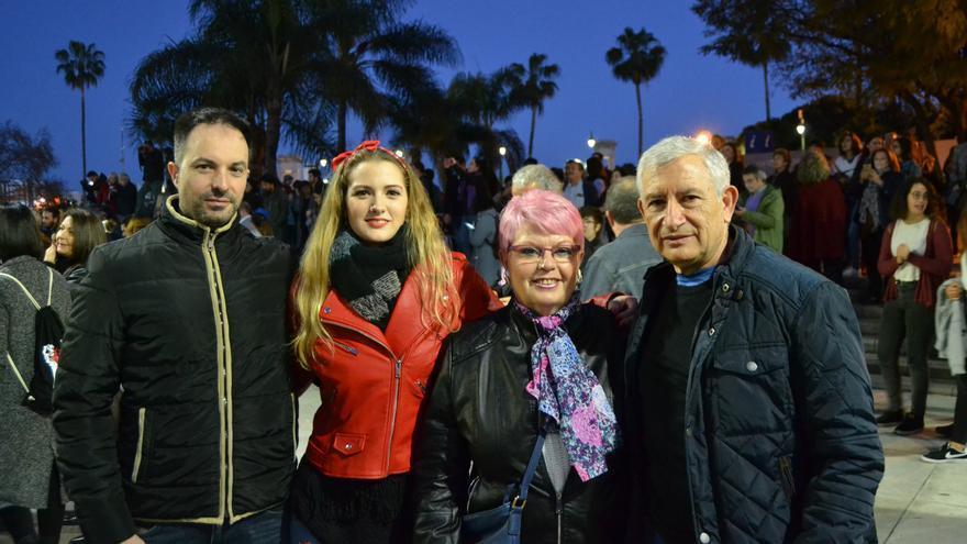 José Carlos, Esther, Paqui y Pepe   N.C.