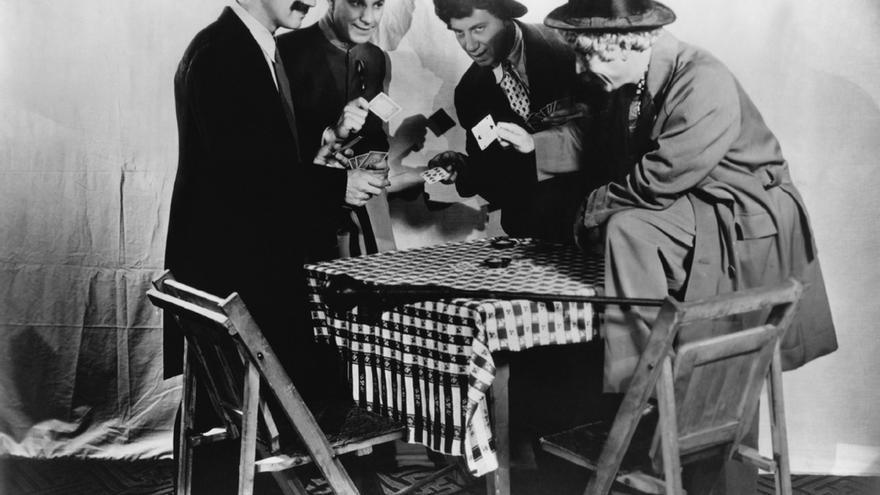 Groucho, Zeppo, Chico y Harpo: cuatro de los hermanos Marx forman parte de la historia de España (Imagen: Insomnia Cured Here | Flickr)