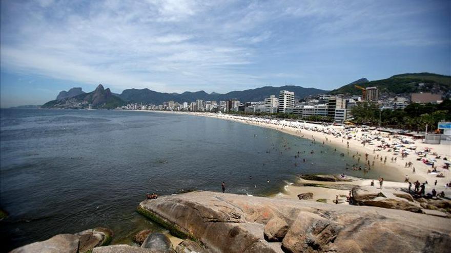 Sensación térmica de 50 grados en Río de Janeiro en plena ola de calor
