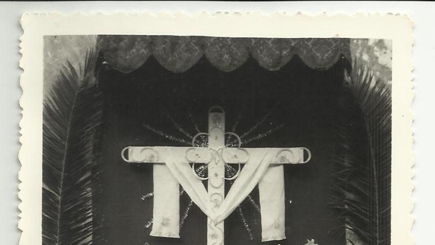 Imagen de archivo de la cruz de la calle Baltasar Martín.
