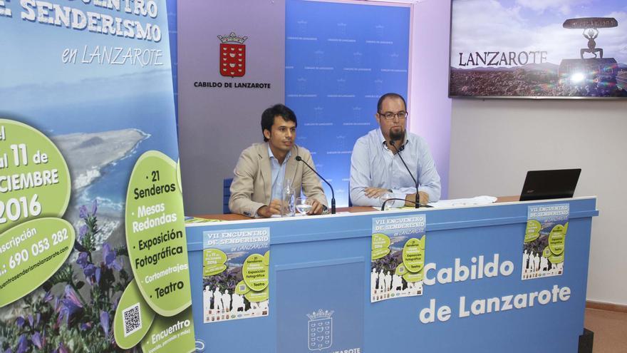 Presentación del 'VII Encuentro Senderismo Lanzarote'