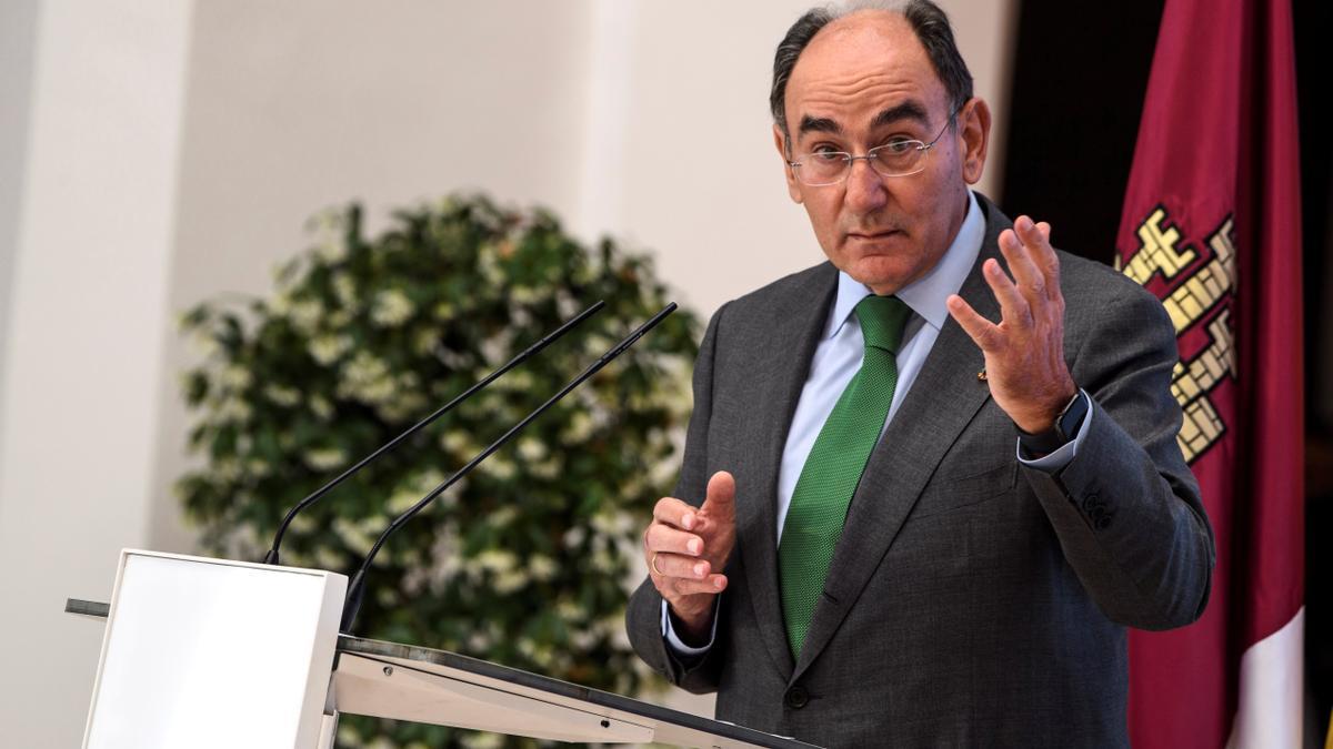 El presidente de Iberdrola, Ignacio Sánchez Galán. EFE/Ismael Herrero/Archivo