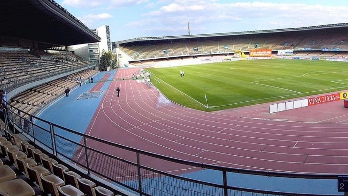 Imagen del estadio Chapín