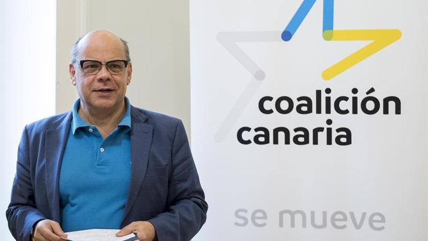 El secretario general de Coalición Canaria, José Miguel Barragán