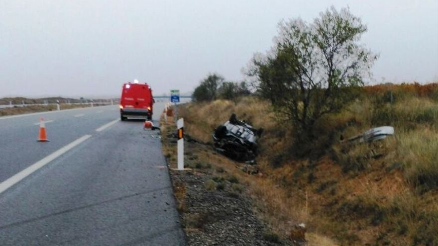 La Policía Foral atiende este fin de semana 18 accidentes de tráfico con cinco heridos