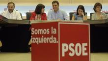 Reunión de la dirección del PSOE