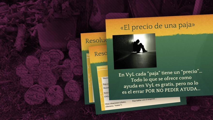 """Documentos de Verdad y Libertad que sancionan las """"caídas"""" de sus miembros."""
