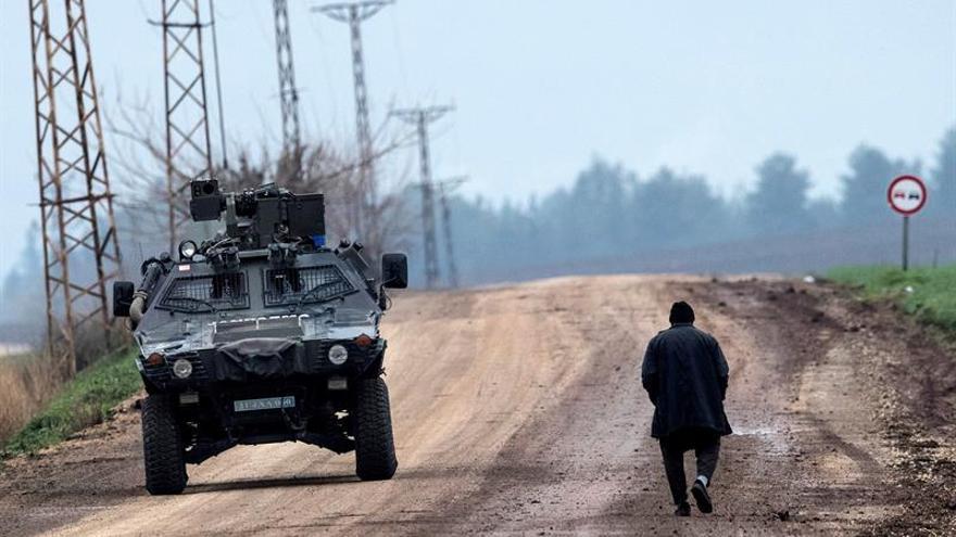 Turquía detiene a 311 personas por criticar la ofensiva en Afrín en redes