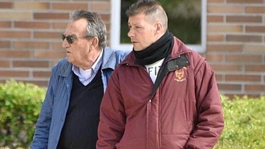 Carlos Fabra a su salida de la prisión de Aranjuez.