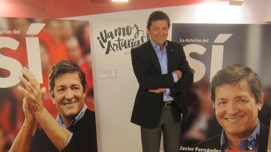 """Presidente de Asturias asume que """"hay que prepararse para hablar"""" y no ve urgente la reforma electoral"""