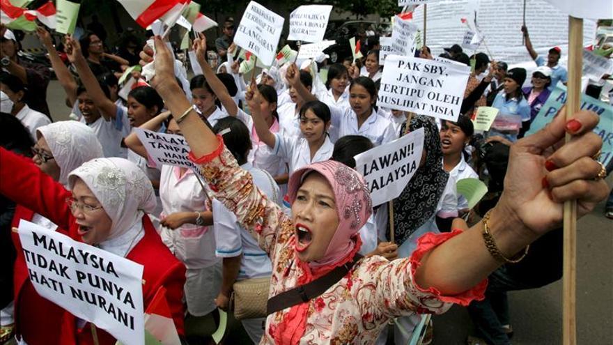 Miles de indonesias son explotadas laboralmente en Hong Kong, según un estudio