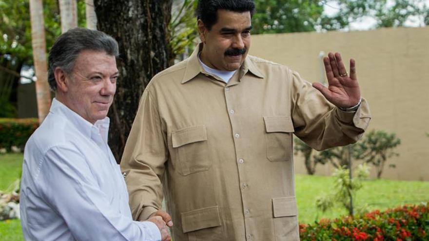 Maduro dice que la confianza con Colombia se estrecha como beneficio de la firma de la paz