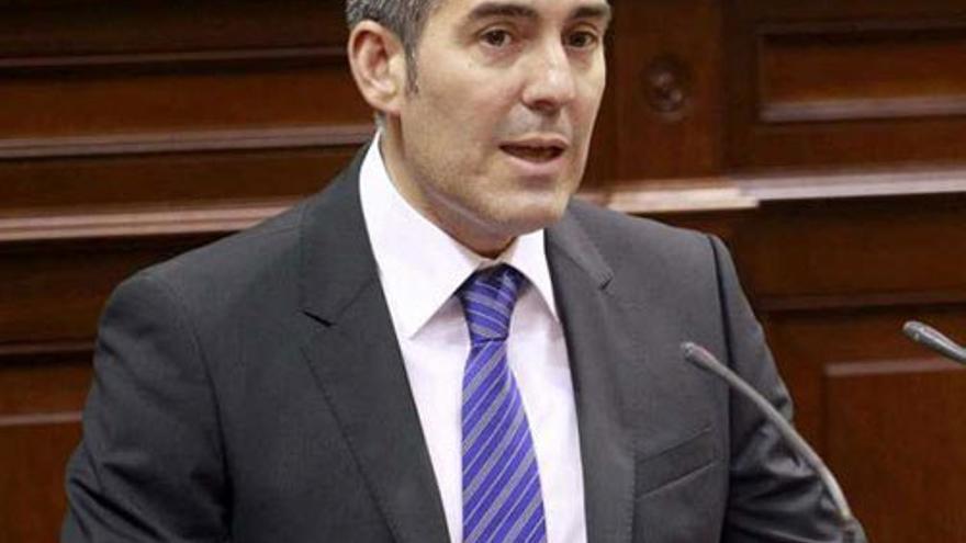 Fernando Clavijo, presidente del Gobierno de Canarias. (Parcan)