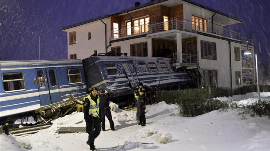 Exculpan ala  limpiadora sospechosa de robar un tren y estrellarlo en Estocolmo
