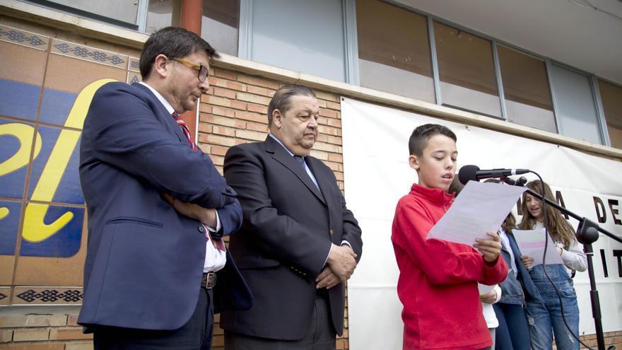 Acto en el IES Azarquiel de Toledo por el Día de la Consticución