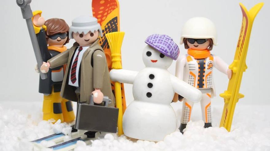 I love temporal de nieve