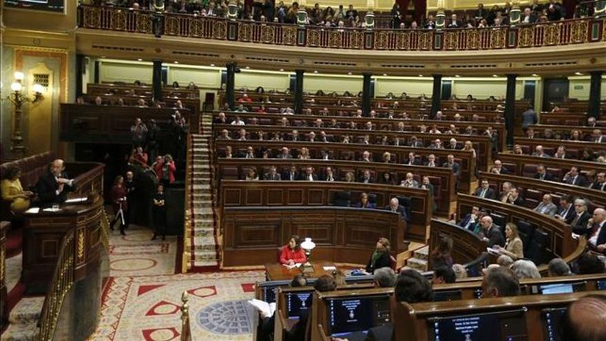 Vista general del Congreso de los Diputados / EFE