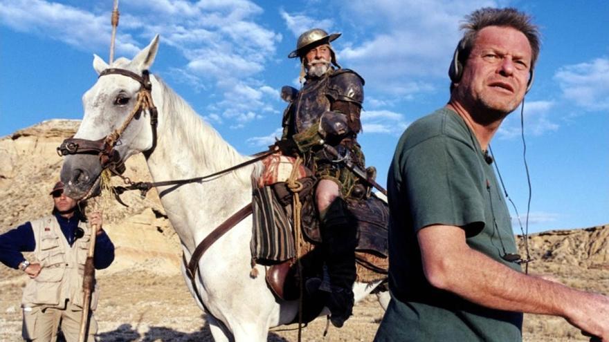 Terry Gilliam en 'Lost in La Mancha'