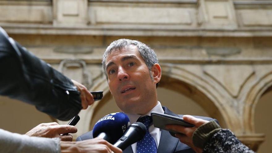 El presidente del Gobierno de Canarias, Fernando Clavijo. EFE/J.P. Gandul