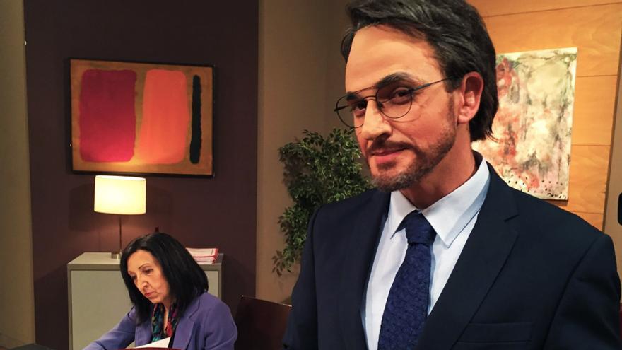 David Marcé como Màxim Huerta en Polònia