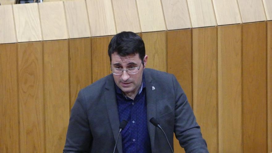 Juan Merlo, hasta este 13 de abril diputado de En Marea y 'número dos' de Podemos Galicia