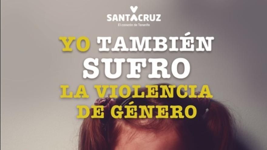Cartel de la campaña municipal contra la violencia machista