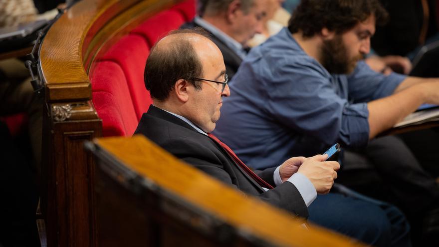 """Iceta consideraría una """"aberración democrática"""" que el Parlament no le elija senador"""