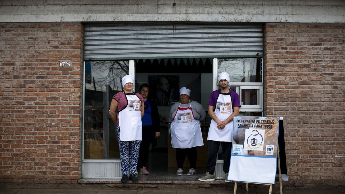 Beneficiarios de Potenciar Trabajo abrieron hace tres meses una panadería en Longchamps. Quedarían afuera de un nuevo IFE.