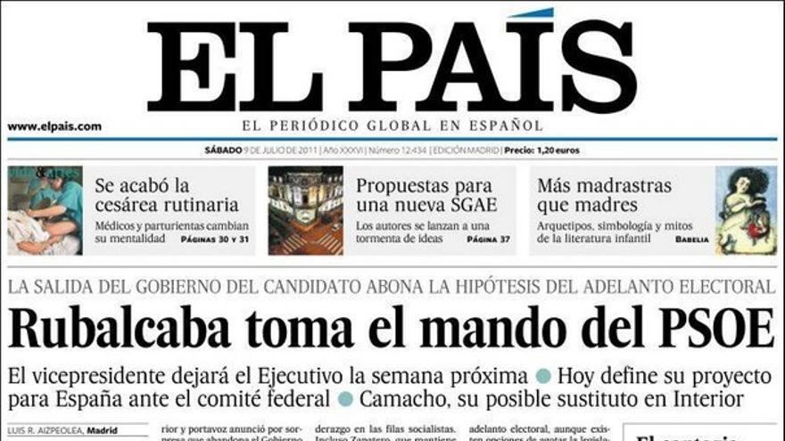 De las portadas del día (09/07/2011) #6