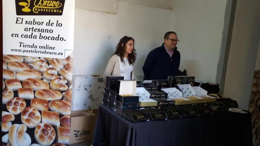 Pastelería Bravo de Los Yébenes (Toledo) en el Mercado de Productores