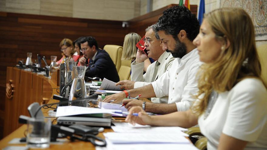 Mesa Asamblea Extremadura pleno