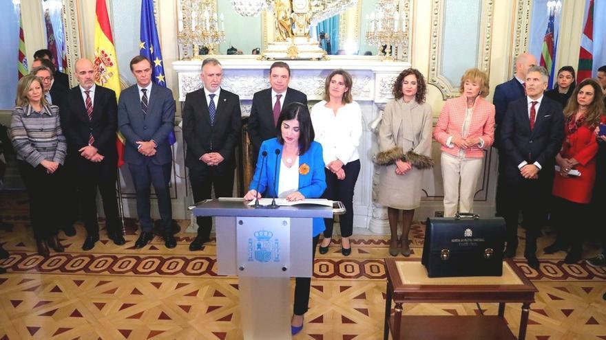 Toma de posesión de Carolina Darias como ministra