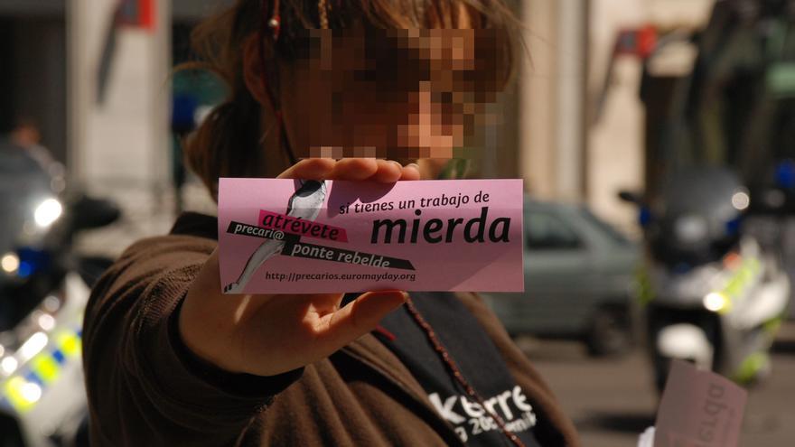 Mayday Madrid 2007. Movilización de parados/as y precarios/as