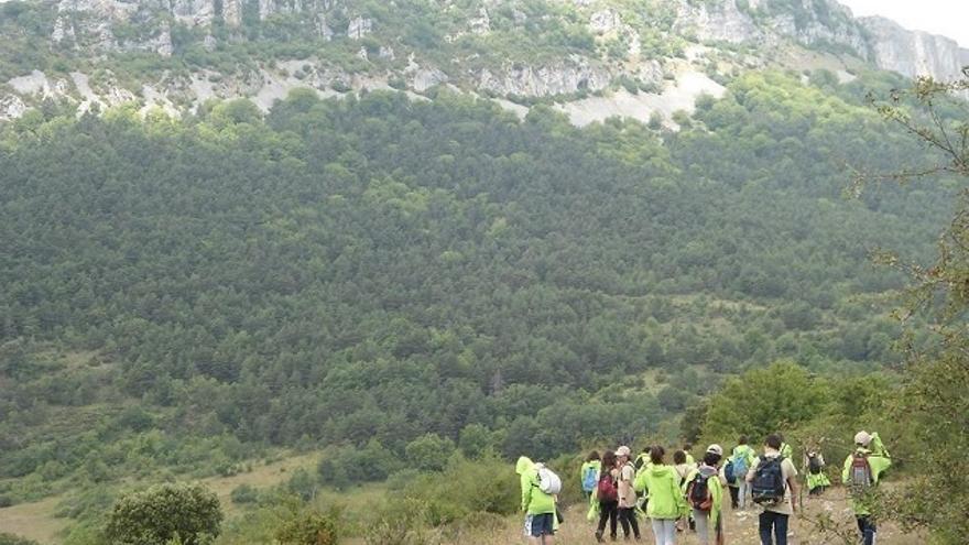 El Parque Natural de Valderejo (Álava) acogerá durante el mes de julio campamentos de educación ambiental