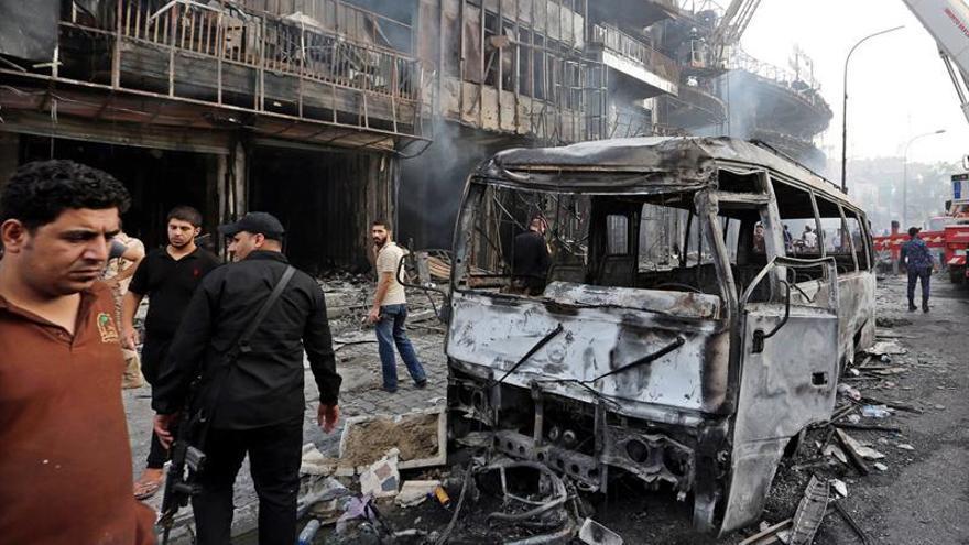 Aumenta a 292 el número de muertos por el atentado del domingo en Bagdad
