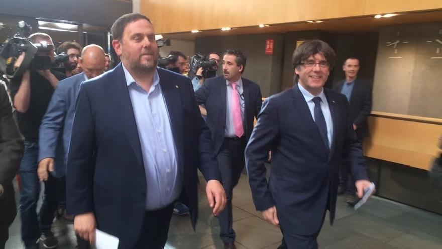 Puigdemont aceptaría ir al Congreso si antes hay acuerdo con Rajoy sobre el referéndum