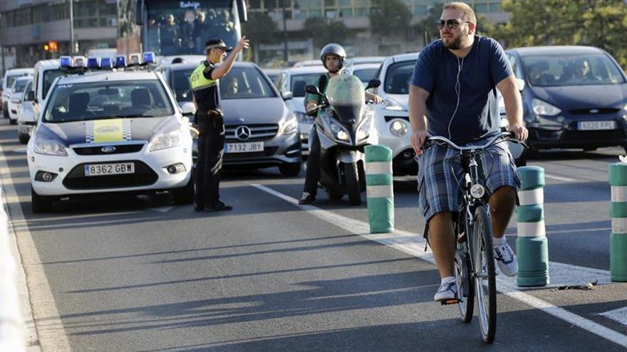 Bruselas celebra el día sin coches