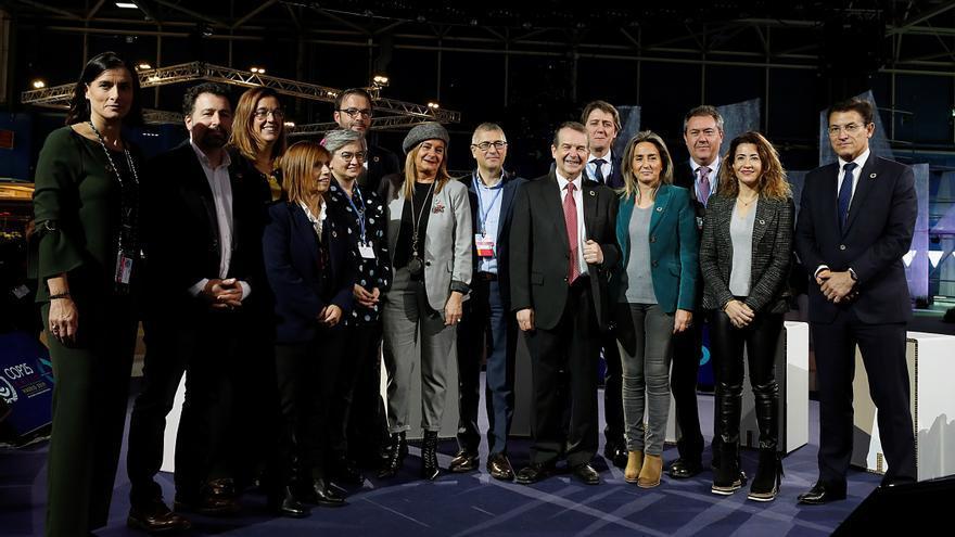Reunión de alcaldes en la COP25.