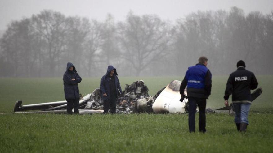 Mueren cuatro personas al estrellarse su avioneta en Alemania