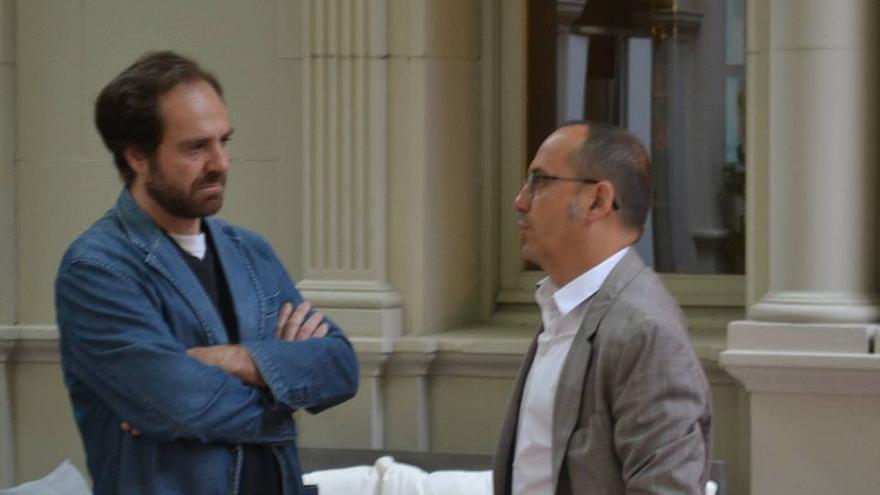 Luis Recuenco (izq.) y Carles Campuzano (der.) en una foto de archivo