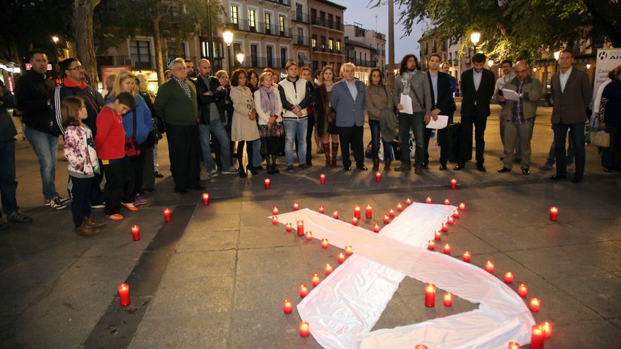 Concentración Día de la Mujer en Toledo