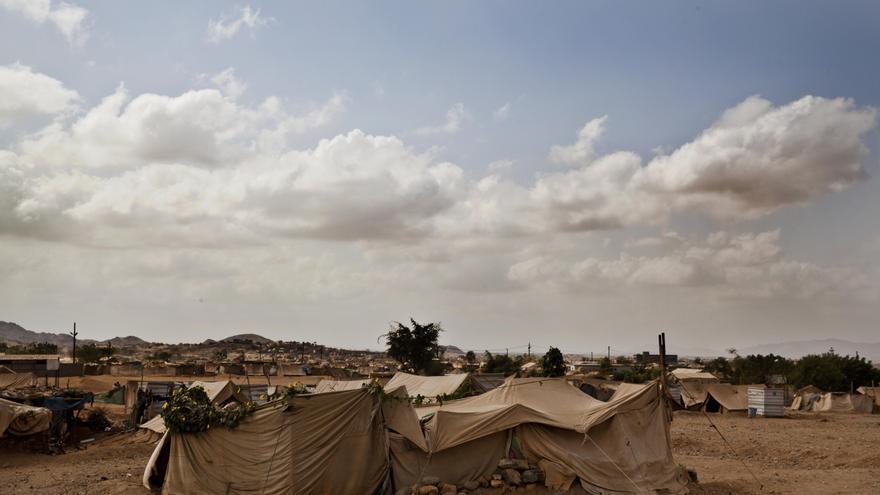 Campo refugiados de Al_Mazraq en Yemen en febrero de 2013 / FOTO: Anna Surinyach / MSF