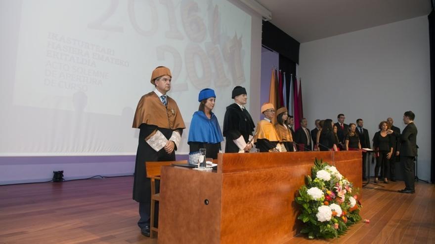 """Goirizelaia (UPV/EHU) pide a los partidos un """"pacto a medio y largo plazo"""" que garantice la inversión en la universidad"""