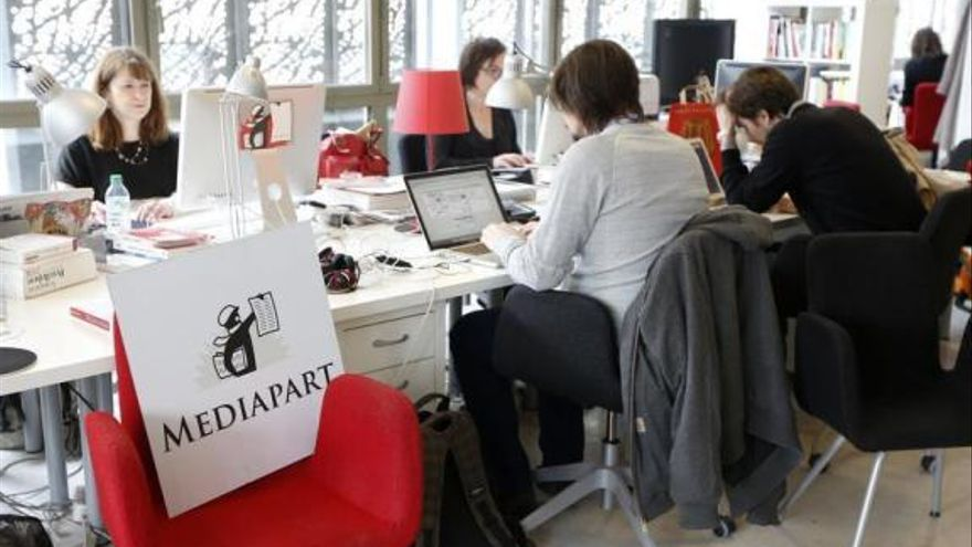 La redacción de Mediapart.